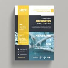 Business Brochure Psd Template Creative Corporate Business Flyer