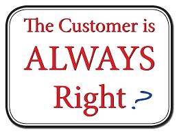 in healthcare the customer is not always right