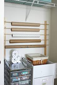 diy wrapping paper storage delightfully noted