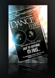 free dance flyer templates party flyer designs free printable templates set 1