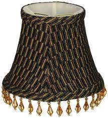 lamp royal designs beaded black gold brown beaded bell chandelier lamp shade from chandelier shades