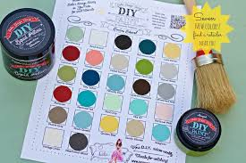 Diy Paint Color Chart Products And Colors Debis Design Diary