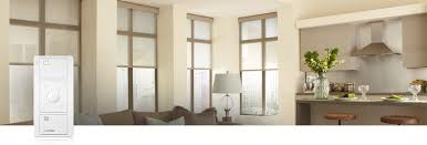 Serena honeycomb and roller remote-controlled shades offer the beauty,  luxury, and quality of a Lutron motorized shade at a price comparable to  that of ...