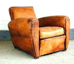 best leather recliner. Brown Leather Armchair Antique Vintage Club Chairs Best Recliner E