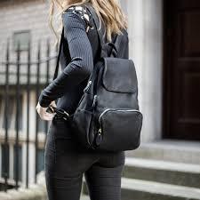 pip black zipped backpack blogger5