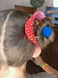 Crazy Hair Day Ideas Girls Cupcake Hairdo For Mackenzie Crazy