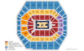 Bankers Life Seating Chart Bankers Life Fieldhouse Seating Views Field Wallpaper Hd 2018