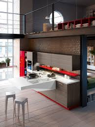 Space Saving Kitchen Design Space Saving Kitchens With Versatile Cantilevered Workstation