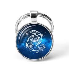 Krásný Přívěsek Na Klíče Horoskop Znamení Rybypisces