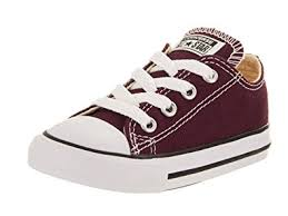 chanel kids shoes. converse toddler all star low inf burgundy size 2 chanel kids shoes