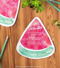 Party Invitation Images Free Free Printable Watermelon Party Invitations Download The Templates