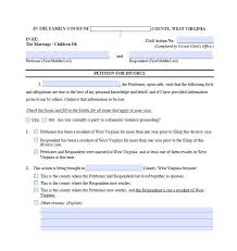 Examples Of Divorce Papers