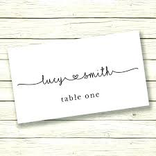 Table Setting Templates Place Setting Cards Tokenlauncher