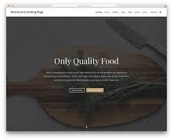 025 Divi Food Website Template Ideas Menu Templates Free