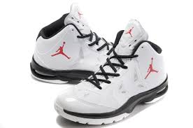nike shoes logo pictures. nike jordan play in these white black red logo basketball shoes pictures