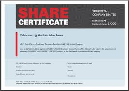 Shareholder Certificate Template Share Certificate Template What Needs To Be Included