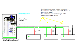 im wiring multiple v baseboard heaters in parallel full size image