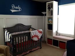 full size of ideas interesting red white blue pure cotton baseball crib bedding cream polyester