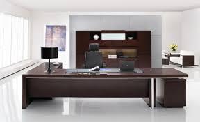 modern office ideas. Modern Office Desks Ideas With Brown Wooden Executive Desk In L Shape: Full Size