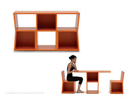 convertable furniture. living in a shoebox italian multifunctional furniture convertable l