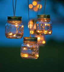 patio lights. Outdoor Lighting-Mason Jar Patio String Lights H
