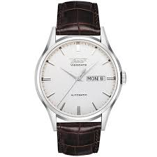 tissot watches quality swiss watches ernest jones watches tissot heritage visodate stainless steel brown strap watch product number 8419264