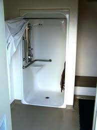 handicap showers home depot free standing tubs shower enclosures sterling tub to conversion kit finesse door