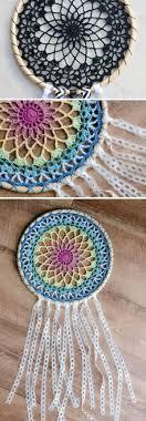 Crochet Dreamcatcher Pattern
