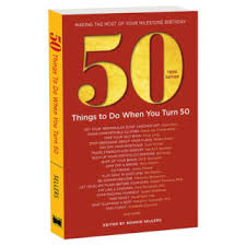50th birthday gift 50 things to do