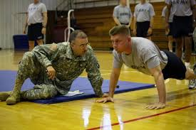 Military Fitness Test Chart Army Pft Push Up Chart Military Com