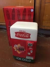 New Coca Cola Vending Machine Beauteous NEW COCACOLA VENDING MACHINE CANISTER Westland Giftware Inc Coke