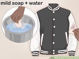 image titled clean a letterman jacket step 1