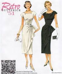 Retro Dress Patterns Awesome 48s Dress Patterns EBay