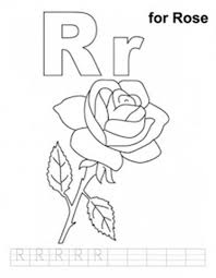 Small Picture The Letter R Coloring Pages Miakenasnet