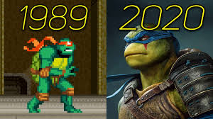 Ninja Turtles (TMNT) Games 1989-2020 ...