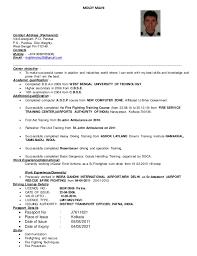 M resume fire Chief. MOLOY MAJHI Contact Address (Permanent): -  Vill-Sonargram P.O- Pandua P.S ...