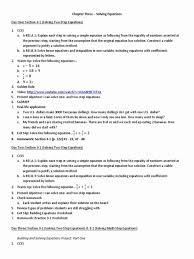 solving two step equations worksheet luxury e variable 2 picture