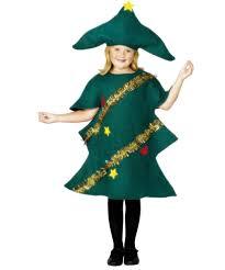 BoyGirls Christmas Tree Fancy Dress Up Costume NativitySchool Girls Christmas Tree Dress