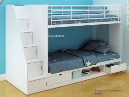 white bunk bed with stairs. Incredible Bunk Bed With Storage Intended For ACME Furniture Neptune Twin  Over Shelves White Bunk Bed With Stairs T