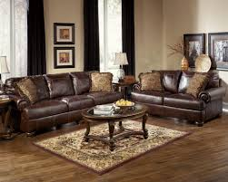 Leather Living Room Set Clearance Ashley Furniture Bedroom Sets Bay Window Curtains And Reclining