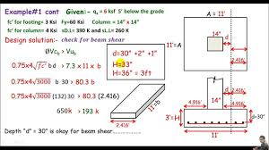 Reinforced Concrete Pad Foundation Design Example Rcd Single Column Footing Design