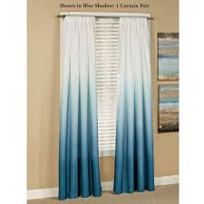 Teal Living Room Curtains Shades Ombre Curtains Ombre Shades And Ombre Curtains