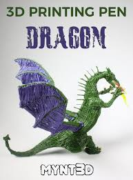 template of a dragon how to make a 3d pen dragon mynt3d
