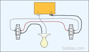 wiring diagram for a 3 way switch 2 lights wirdig simple home electrical wiring diagrams