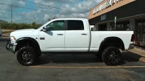 white dodge ram lifted. Simple Lifted Lifted White Dodge Ram 2500 Cummins With Fuel Octane Wheels Throughout 0