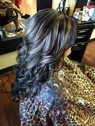 Dark Brown With Blonde Highlights