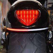 suzuki m109 led rear led turn signal fender kit from new rage cycles version m109r red turns