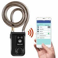 Bluetooth Akıllı Kilit Alarm Bisiklet Akıllı Kilit Bisiklet/Motosiklet  Anahtarsız Kilit APP Kontrol|Locks