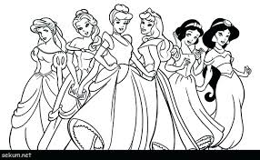 Disney Princess Christmas Coloring Pages Printable Rapunzel Page