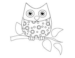 Owl Printable Coloring Pages Cute Owl Coloring Pages Cute Owl